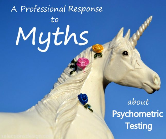Psychometric Testing Myths - Selection by Design