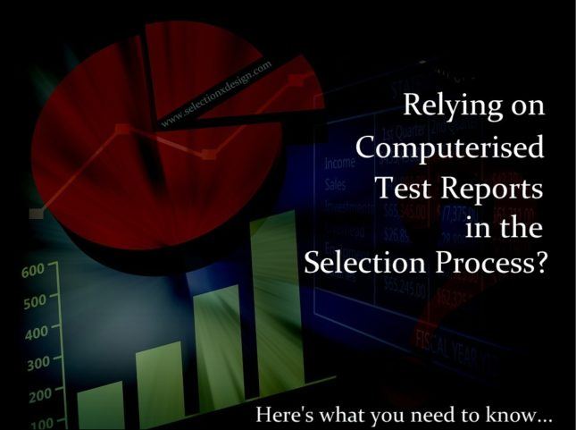 computerised test reports - what to consider